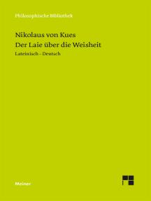 Idiota de sapientia / Der Laie über die Weisheit: (Heft 1 der lateinisch-deutschen Parallelausgabe)