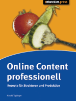 Online Content professionell