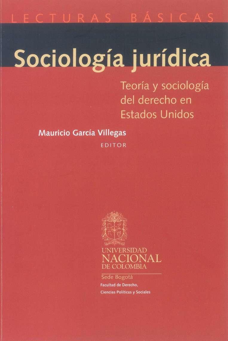 Lea Sociología jurídica. Teoría y sociología del derecho