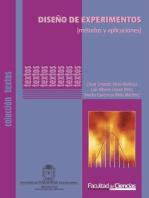 Diseño de Experimentos [Métodos y Aplicaciones]