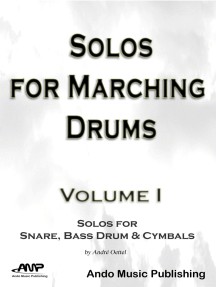 Solos for Marching Drums - Volume 1