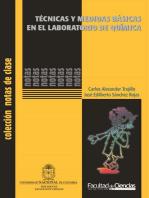 Técnicas y medidas básicas en el laboratorio de química