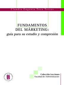 Fundamentos del marketing: guía para su estudio y comprensión