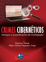 Crimes Cibernéticos: ameaças e procedimentos de investigação