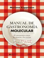 Manual de gastronomía molecular: El encuentro entre la ciencia y la cocina