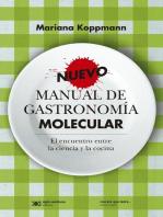 Nuevo manual de gastronomía molecular: El encuentro entre la ciencia y la cocina