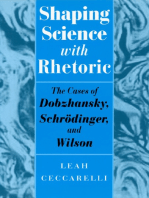 Shaping Science with Rhetoric