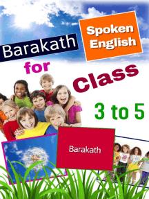Barakath Spoken English for Class 3 to 5