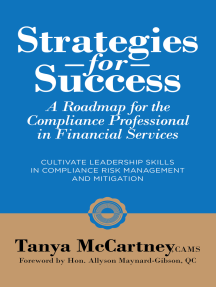 Strategies For Success: A Roadmap For The Compliance Professional in Financial Services