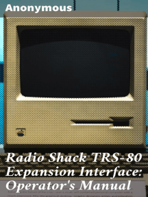 Radio Shack TRS-80 Expansion Interface: Operator's Manual: Catalog Numbers: 26-1140, 26-1141, 26-1142