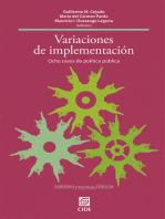 Variaciones de implementación