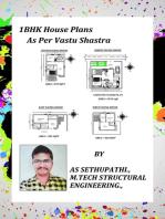 1BHK House Plans As Per Vastu Shastra