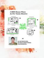 3BHK House Plans As Per Vastu Shastra