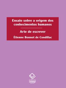 Ensaio sobre a origem dos conhecimentos humanos: Arte de escrever