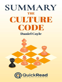 """Summary of """"The Culture Code"""" by Daniel Coyle"""