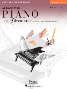 Accelerated Piano Adventures for the Older Beginner: Theory Book 2