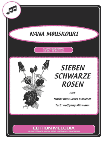 Sieben schwarze Rosen