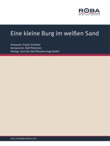 Eine kleine Burg im weißen Sand: Single Songbook; as performed by Frank Schöbel