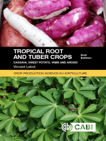 Tropical Root and Tuber Crops: Cassava, sweet potato, yams and aroids