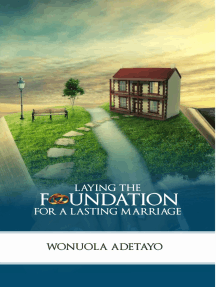 Laying the Foundation for a Lasting Marriage