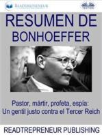 Resumen De Bonhoeffer