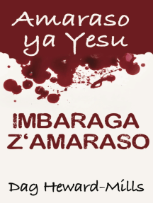 Amaraso ya Yesu Imbaraga z'Amaraso