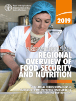 Regional Overview of Food Security and Nutrition in Europe and Central Asia 2019