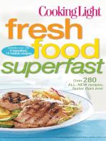 Cooking Light Fresh Food Superfast