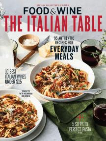 Food & Wine The Italian Table