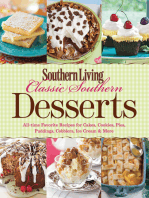 Southern Living Classic Southern Desserts