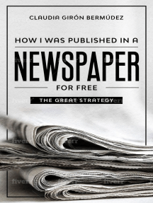 How I Was Published in a Newspaper for Free
