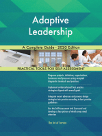 Adaptive Leadership A Complete Guide - 2020 Edition