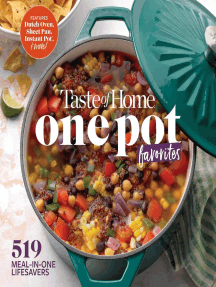 Taste of Home One Pot Favorites: 425 Dutch Oven, Instant Pot®, Sheet Pan and other meal-in-one lifesavers