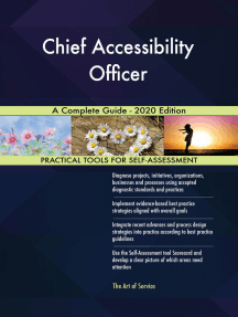 Chief Accessibility Officer A Complete Guide - 2020 Edition