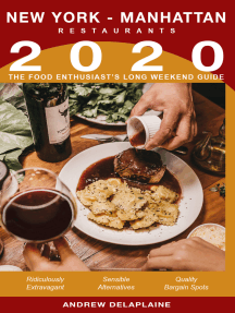2020 New York / Manhattan Restaurants