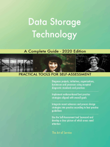 Data Storage Technology A Complete Guide - 2020 Edition