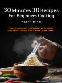 30 Minutes 30 Recipes For Beginners Cooking