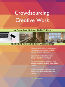Crowdsourcing Creative Work A Complete Guide - 2020 Edition