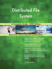 Distributed File System A Complete Guide - 2020 Edition
