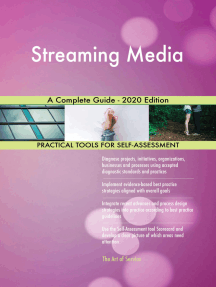 Streaming Media A Complete Guide - 2020 Edition