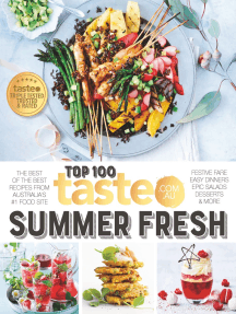 SUMMER FRESH: 100 top-rated BBQ recipes from Australia's #1 food site