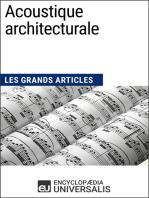 Acoustique architecturale: Les Grands Articles d'Universalis