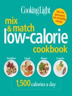 COOKING LIGHT Mix & Match Low-Calorie Cookbook