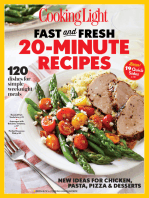 COOKING LIGHT Fast & Fresh 20 Minute Recipes
