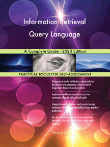 Information Retrieval Query Language A Complete Guide - 2020 Edition