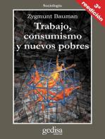 Trabajo, consumismo y nuevos pobres
