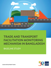 Trade and Transport Facilitation Monitoring Mechanism in Bangladesh: Baseline Study