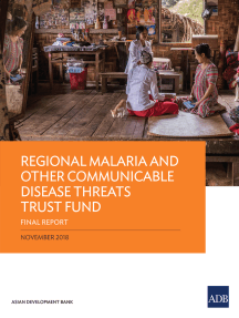Regional Malaria and Other Communicable Disease Threats Trust Fund: Final Report