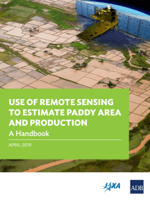Use of Remote Sensing to Estimate Paddy Area and Production: A Handbook