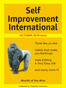 Self Improvement International: October 2019